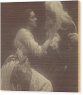 Vivien And Merlin Vivien And Merlin Wood Print