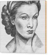 Vivien Leigh Wood Print