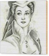 Vivien Wood Print