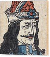 Vlad IIi (1431-1477) Wood Print