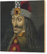 Vlad The Impaler Portrait  Wood Print