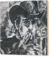 Vladimir Staer, Portrait Wood Print