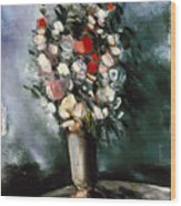 Vlaminck: Summer Bouquet Wood Print