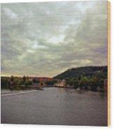 Vltava View 1 Wood Print