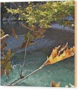 Voidomatis River Wood Print