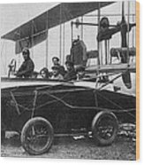 Voisin Flying Machine, 1912 Wood Print