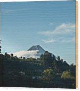 Volcan De Agua Antiqua Gutemala 1 Wood Print
