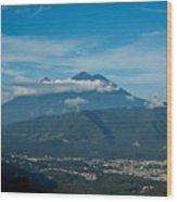 Volcan De Agua Antiqua Gutemala 5 Wood Print