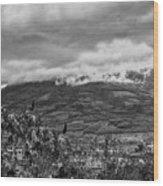 Volcan De Agua - Ciudad Vieja I Wood Print