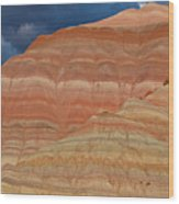 Volcanic Rainbow Wood Print