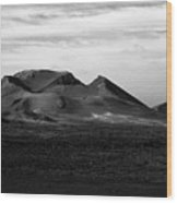 Volcano 2 Wood Print