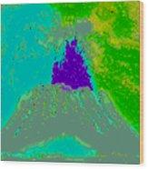 Volcano Dd4 Wood Print