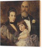 Volkov Manzei Family Makarov. 1890 Wood Print