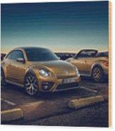 Volkswagen Beetle Dune 4k 2 Wood Print