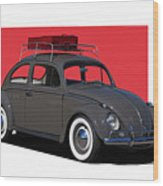 Volkswagen Vw Beetle Wood Print