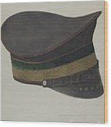 Volunteer Fireman's Cap Wood Print
