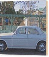 Volvo Wood Print