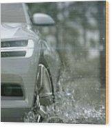 Volvo Xc Coupe Concept Wood Print