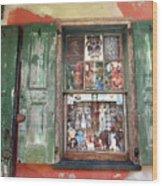Voodoo Window Wood Print
