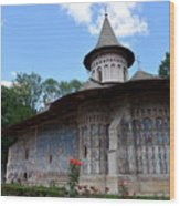 Voronet Monastery Wood Print
