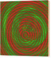 Vortex 1 Wood Print