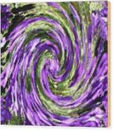 Vortex Abstract Art No. 14 Wood Print