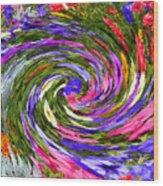 Vortex Abstract Art No. 18 Wood Print