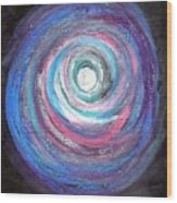 Vortex Of Love 2 Light Is Wave And Particle Wood Print