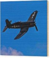 Vought F-4u Corsair Wood Print