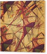 Vuelo Wood Print
