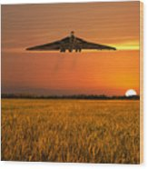 Vulcan Farewell Fly Past Wood Print