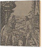 Vulcan, Venus, And Eros Wood Print