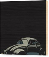 Vw Beatle Wood Print