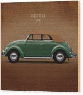 Vw Beetle 1953 Wood Print