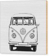 Bus  Wood Print