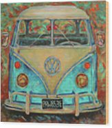 Vw Van Wood Print