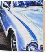 Vw Vintage Sports Car Wood Print