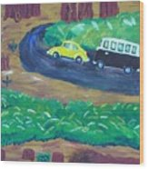 Vws In The Redwoods Wood Print