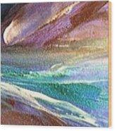 W 034-comet Wood Print