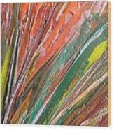 W 043 Wood Print