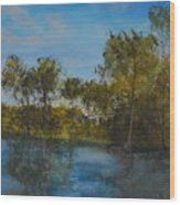 Waccamaw Breeze I Wood Print