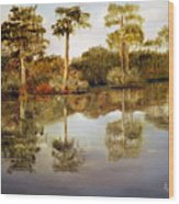 Waccamaw River Wood Print