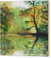 Waccamaw River Sc Wood Print