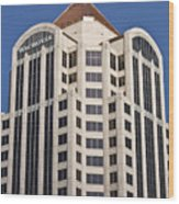 Wachovia Tower Roanoke Virginia Wood Print
