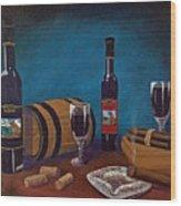 Waco Winery Wood Print