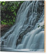 Wadsworth Falls 4 Wood Print