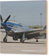 Wafb 09 P-51 Mustang 3 - Darling Of The Sky Wood Print