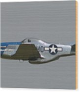 Wafb 09 P51 Mustang 1 - Darling Of The Sky Wood Print