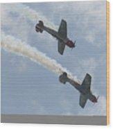 Wafb 09 Yak 52 Aerostar 7 Wood Print