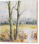Wagner's Farm Wood Print